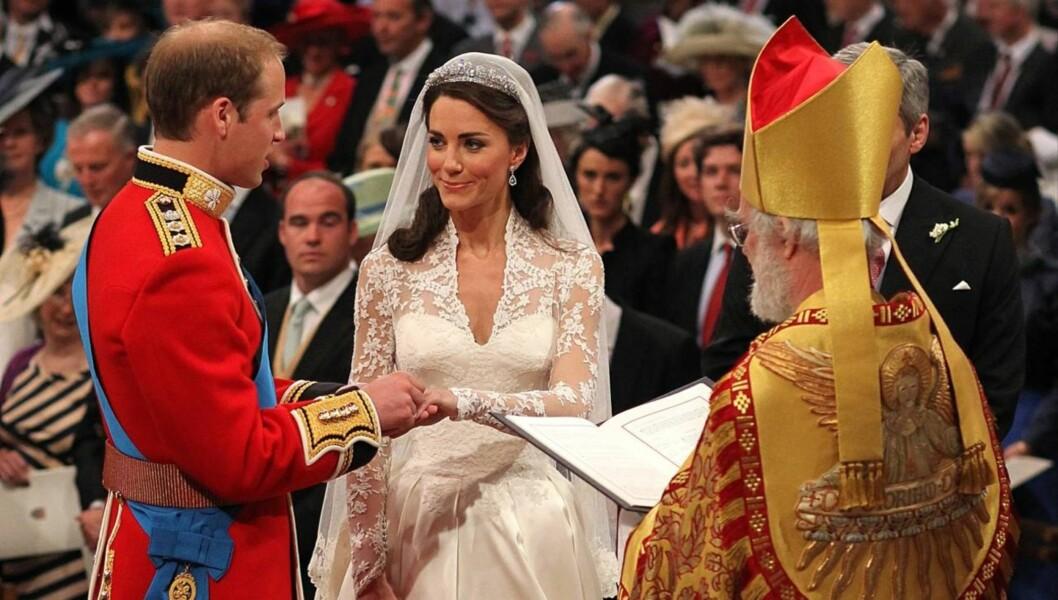 SA JA: Men Kate Middleton lovet ikke å adlyde prins William. Foto: All Over Press