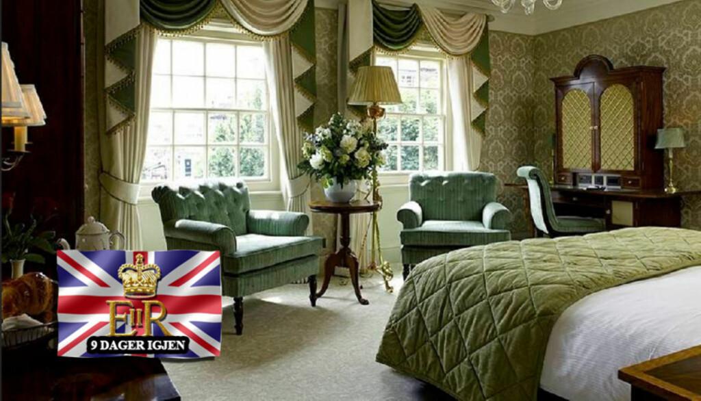 LUKSURIØST: Ifølge The Sun kommer Kate Middleton til å tilbringe natten til 29. april på en suite ved The Goring Hotel i London. Foto: All Over Press