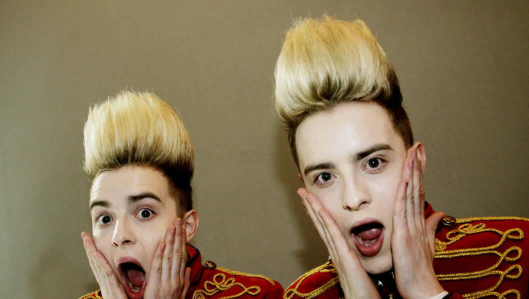 ENEGIBOMBER: John og Edward Grimes blir elsket og hatet over hele verden. Foto: Seher.no / Kirsti Ertsås