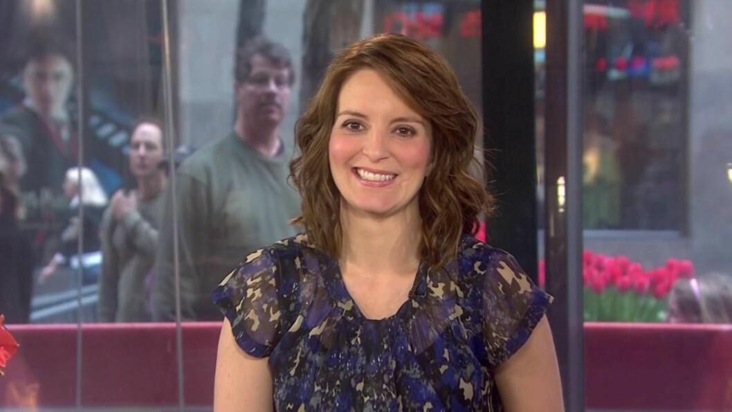 OPP OG NED I VEKT: TV-stjernen Tina Fey skriver i sin nye bok «Bossypants» at hun hele livet har sprettet opp og ned i vekt. Foto: All Over Press