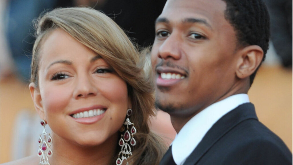 BLE FORELDRE: Lørdag 30. april kom endelig tvillingene til Mariah Carey og ektemannen Nick Cannon til verden. Her er det lykkelige paret avbildet sammen på SAG-Awards i Los Angeles i januar.  Foto: All Over Press