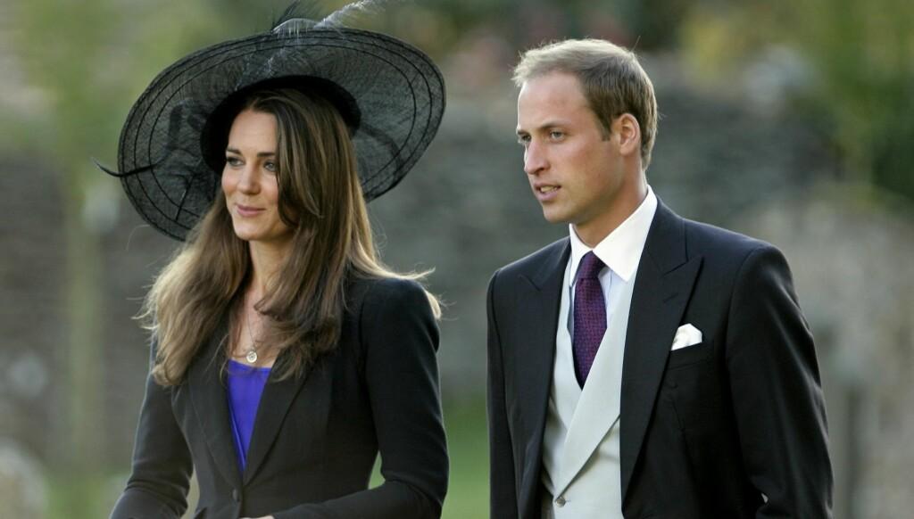 BESØKTE GRAVEN: Prins William skal ha tatt med seg Kate Middleton til sin mors grav før bryllupet. Foto: All Over Press