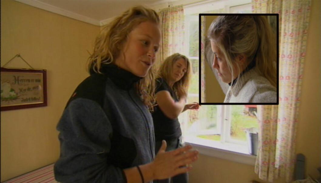 <strong>TØFF KRANGEL:</strong> - Jeg var litt på tuppa, jeg var lett antennelig og tenkte helvete heller, sier Kristin Glück Evensen om torsdagens «Farmen»-krangel med Synne Bolstad. Foto: TV 2