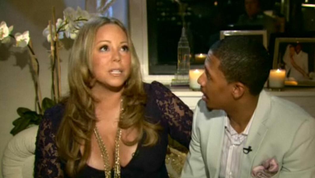 <strong>FØDER SNART:</strong> Mariah Careys tvillingfødsel er ventet å starte når som helst. Foto: Stella Pictures