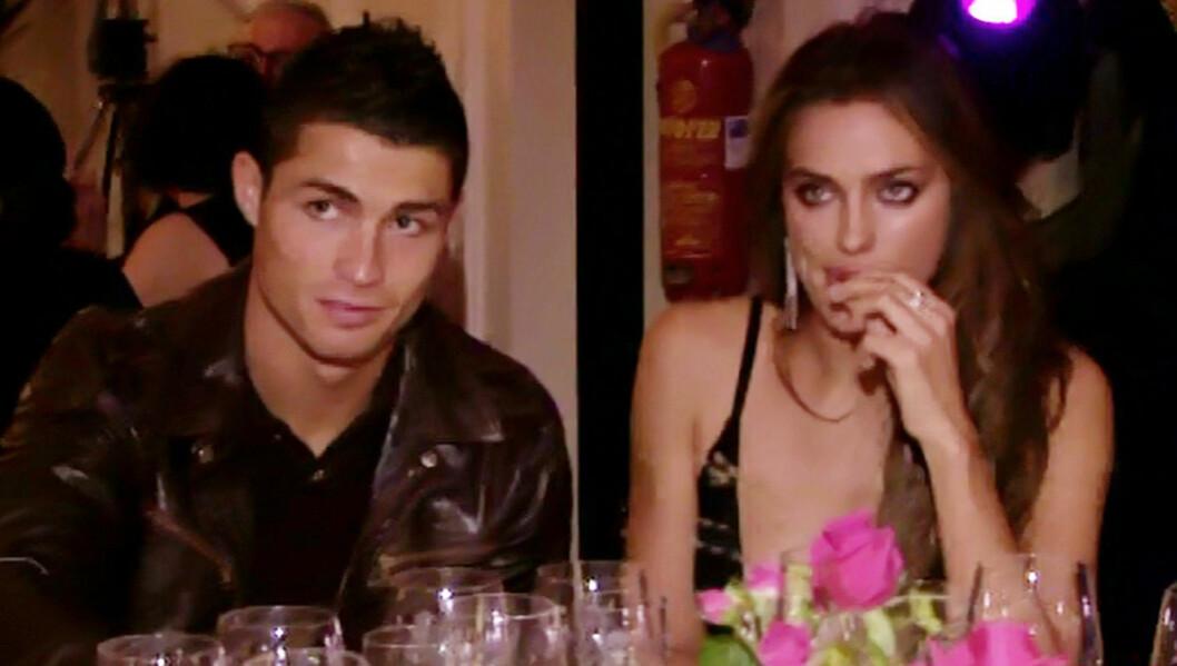 MÅ DELE PÅ KJÆRESTEN: Fotballspilleren Cristiano Ronaldo må forberede seg på å se mindre til kjæresten Irina Shayk, etter at hennes modell-karriere har eksplodert de siste månedene. Foto: Stella Pictures