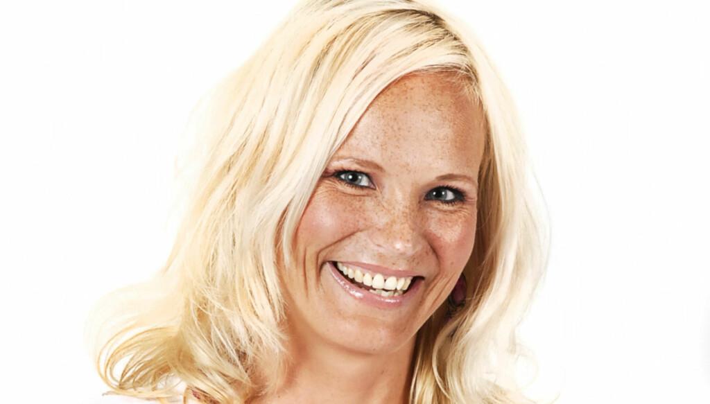 FANT DRØMMEMANNEN: Lykken smiler for Myhre, som har blitt samboer med australske Ryan Ludlow. Foto: Norsk Tipping