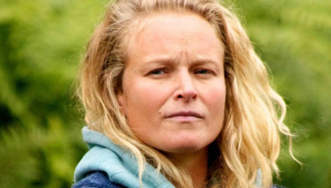 FIKK NAKKEPROLAPS: Kristin Glück Evensen fikk nakkeprolaps og ble liggende i seks uker. Da meldte hun seg på «Farmen». Foto: Alex Iversen/TV 2