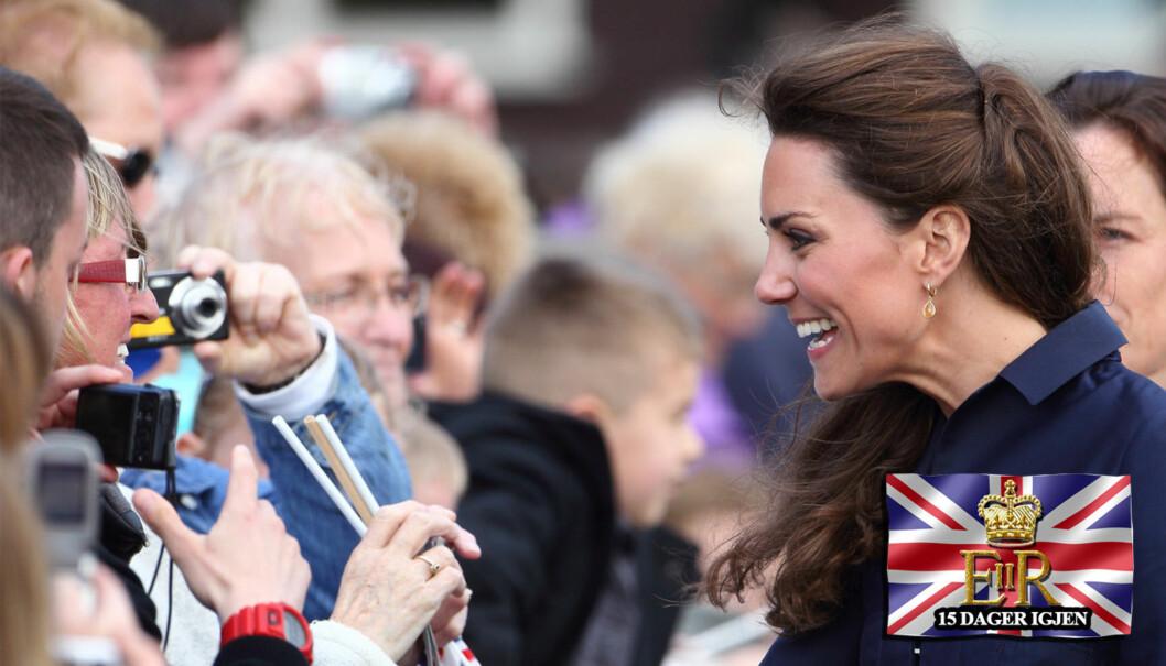 KONFIRMERT: Bare litt over en måned før bryllupet ble den kommende prinsessen Kate Middleton konfirmert i en privat seremoni. Foto: All over press