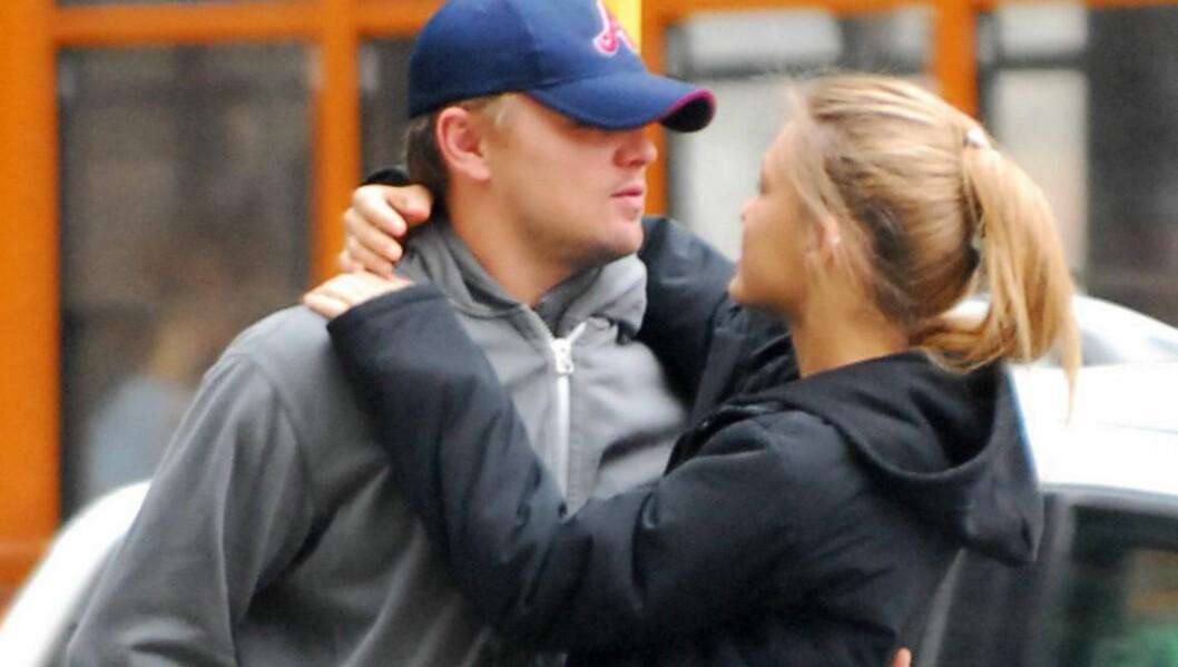SPEKULASJONER: Hollywood-mediene tror at forholdet mellom Leonardo og Bar snart er slutt. Foto: Stella Pictures