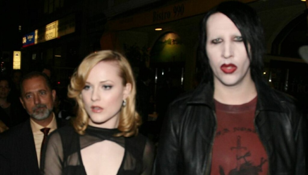 EKSKJÆRESTER: Evan Rachel Wood er ekskjæresten til Marilyn Manson.  Foto: All Over Press