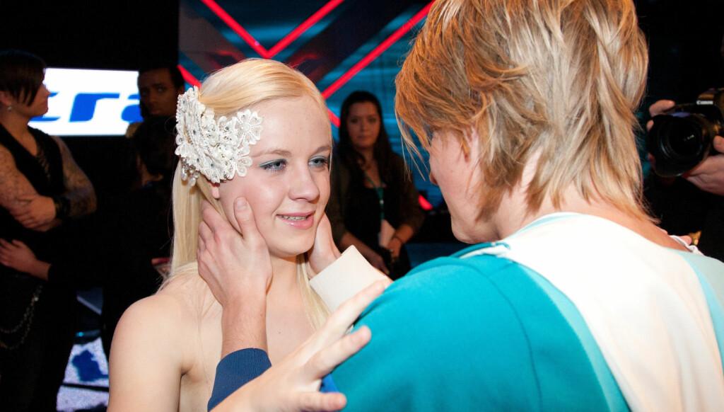 FANT TONEN: Annsofi og Eivind fra fjorårets sesong av «X Factor» har blitt kjærester. Foto: Stella Pictures