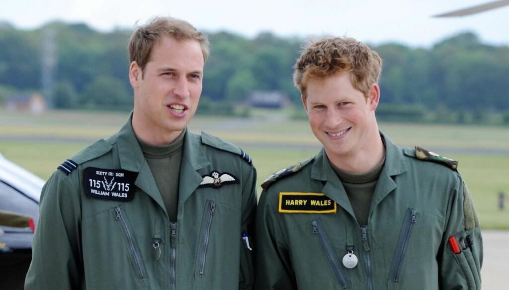 DRIKKES UT I HELGA: Etter planen skal prins William drikkes ut i helgen, prins Harry får dermed en tøff oppladning til sin ekspedisjon. Foto: Stella Pictures