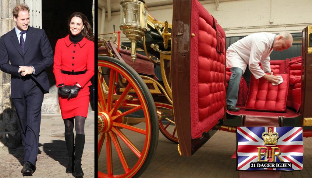 GIFTER SEG: Kate Middleton og prins William gir hverandre sitt «ja» den 29. april. Det knyttes enorme forventinger til bryllupet - men nå kan nylig avslørte detaljer stagge nysgjerrigheten til enhver... Foto: STELLA PICTURES