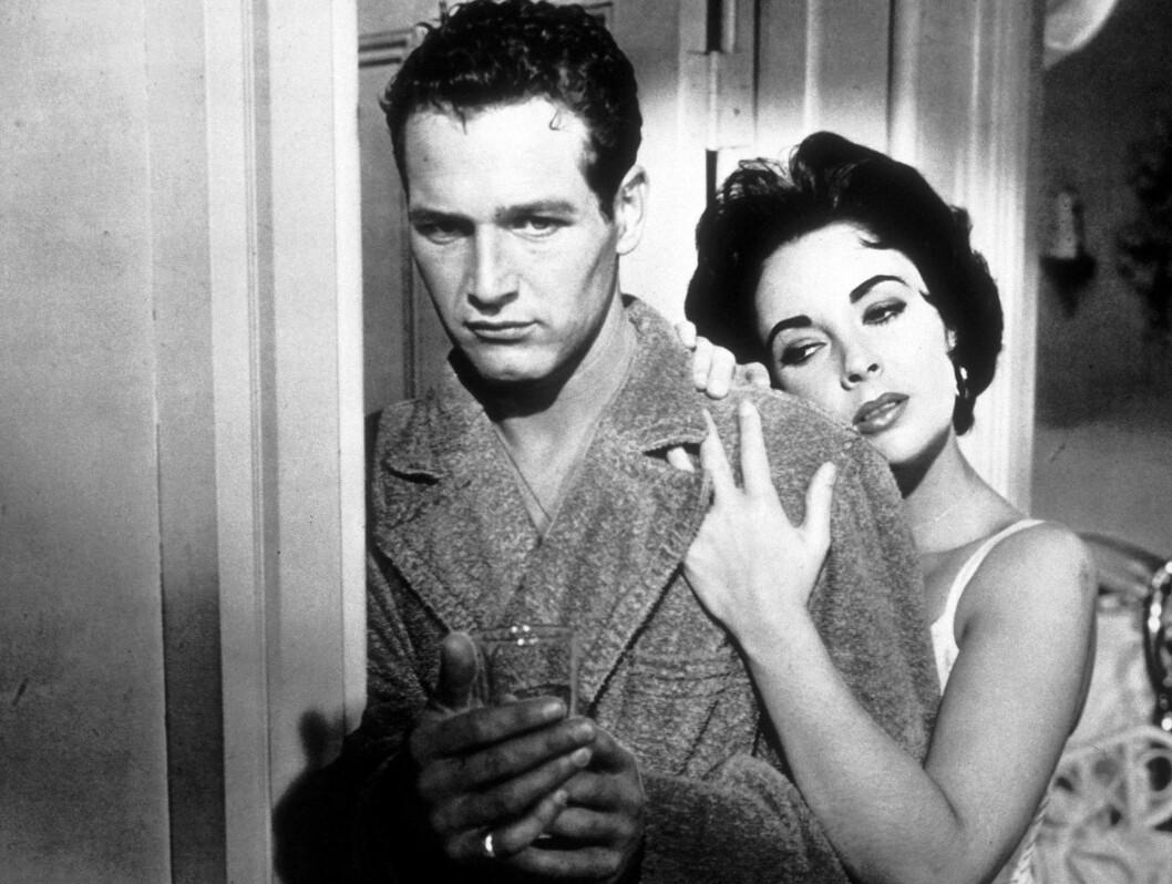 <strong>1958:</strong> Elizabeth Taylor sammen med Paul Newman.  Foto: Stella Pictures