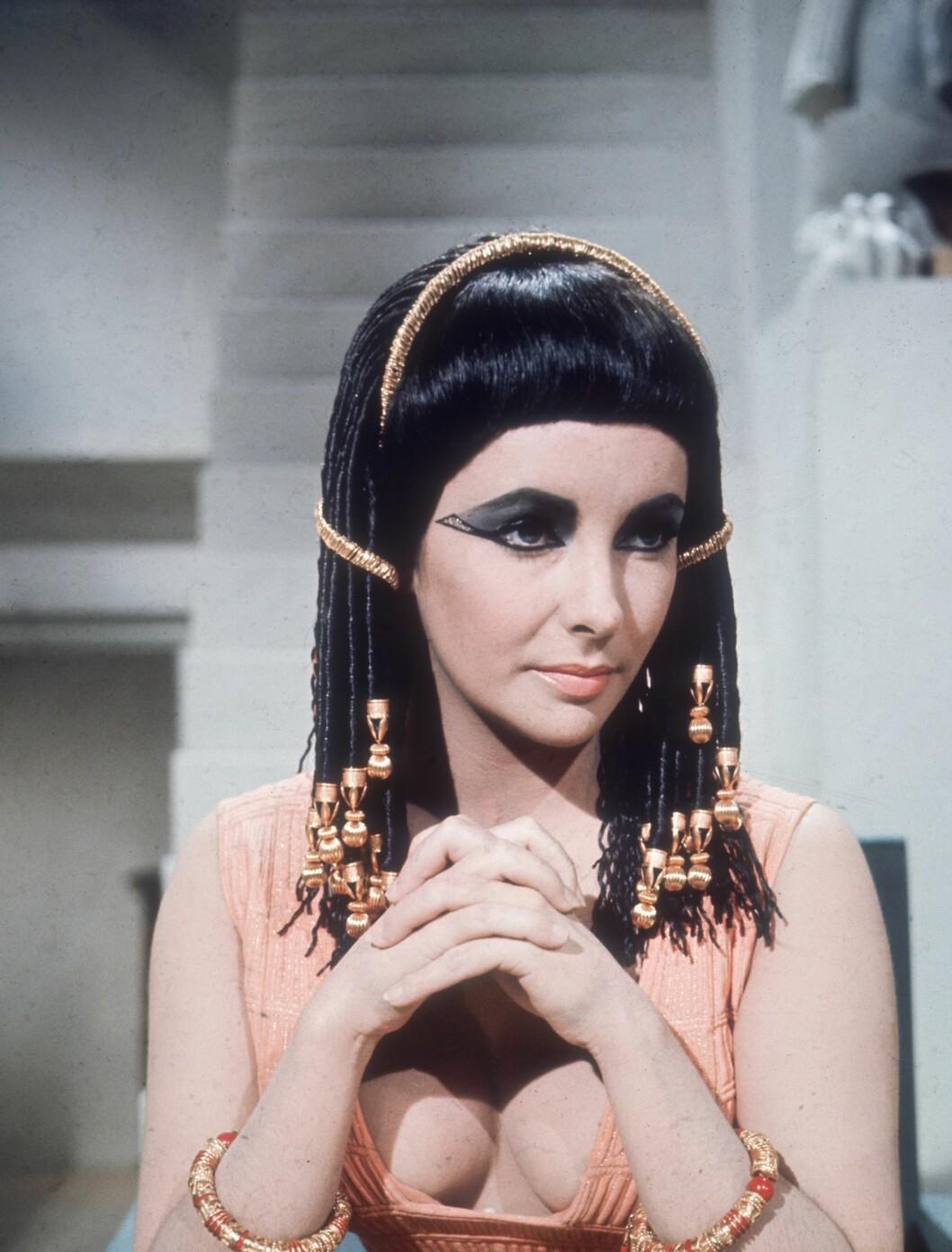 <strong>1963:</strong> Elizabeth Taylor som Cleopatra. Foto: All Over Press