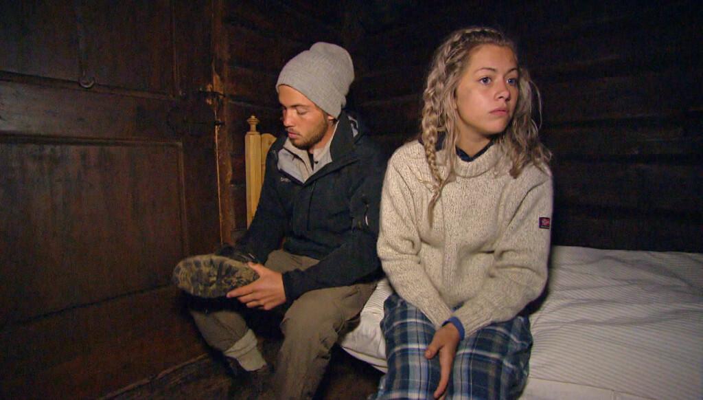 HOLDT AVSTAND: «Farmen»-paret Morten Emil og Synne, avtalte ifølge henne at de ikke skulle ha sex under oppholdet på TV 2-gården. Foto: TV 2