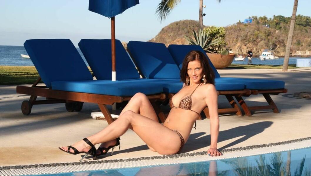 SATSER PÅ MODELLKARRIERE: «Paradise Hotel»-deltaker Silje Winther vil ikke ha barn, så lenge hun jobber som glamourmodell, fordi hun frykter at en graviditet skal ødelegge magen hennes. Foto: Sølve Hindhamar, Seher.no