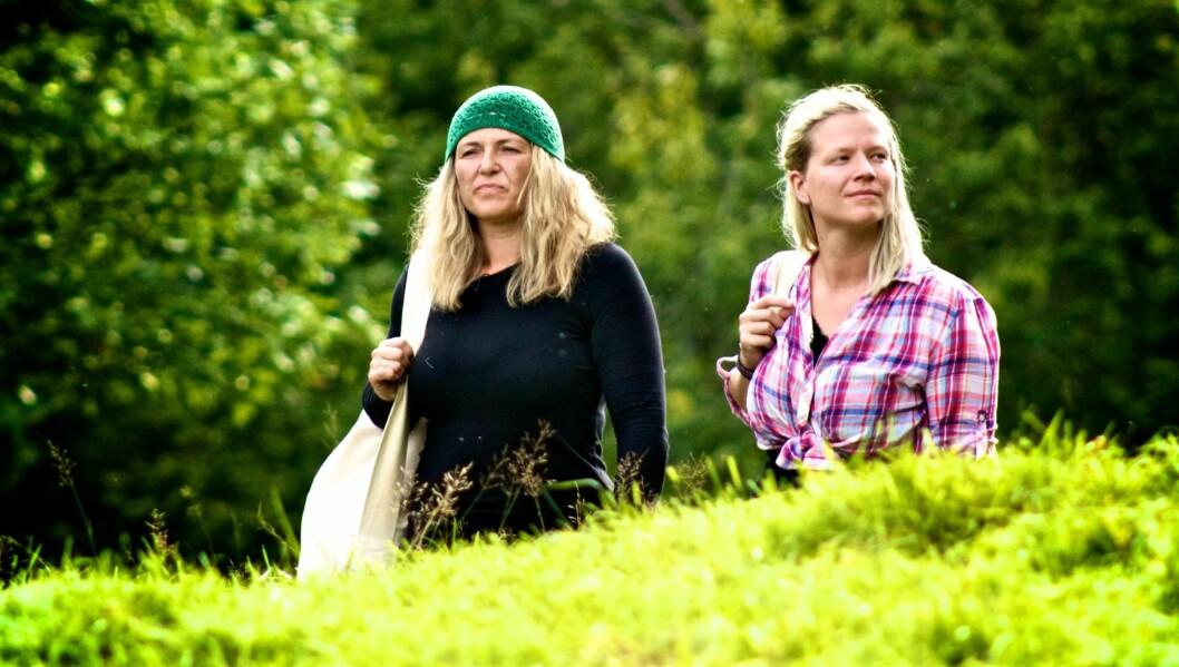 KRITISK: - Hun gikk blant annet for å sove i to, tre timer mens andre drev og jobbet, sier Siv Annie Bjørnvåg om den hjemsendte «Farmen»-deltageren Marianne. Foto: Alex Iversen/TV 2