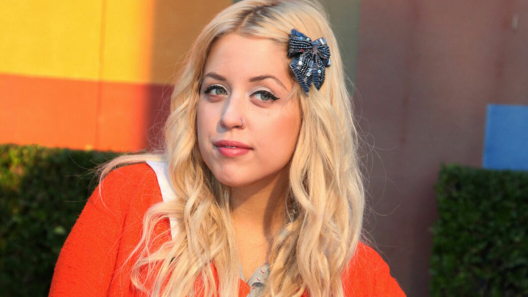 <strong>USKYLDIG?:</strong> Peaches Geldof så svært uskyldig ut på denne prisutdelingen i Hollywood i september i fjor - midt i det som visstnok var hennes «ville L.A.-periode».  Foto: All Over Press