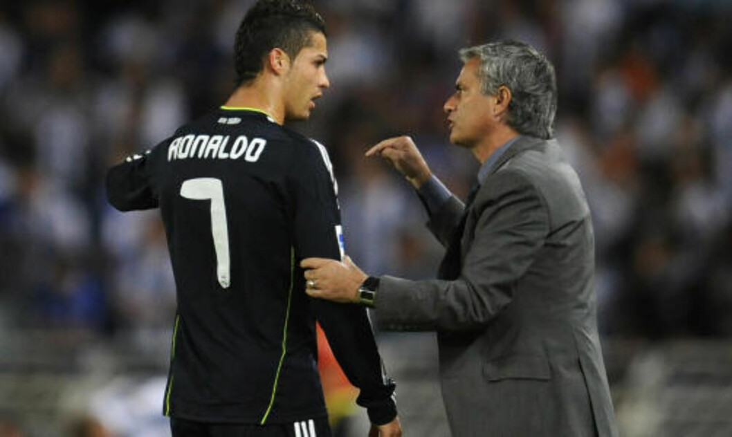 <strong>OVER 40 SKUDD PÅ FIRE KAMPER:</strong> José Mourinho trenger ikke be Ronaldo skyte oftere - kanskje heller litt sjeldnere. Foto: REUTERS/Felix Ordonez