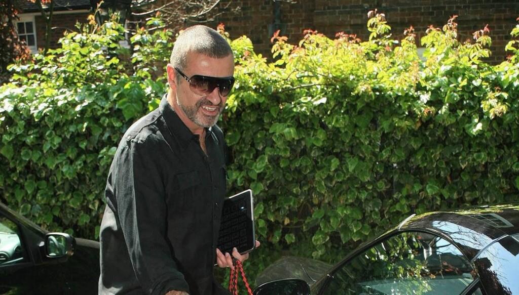 SLANKERE: George Michael har gått ned syv kilo. Foto: Stella Pictures