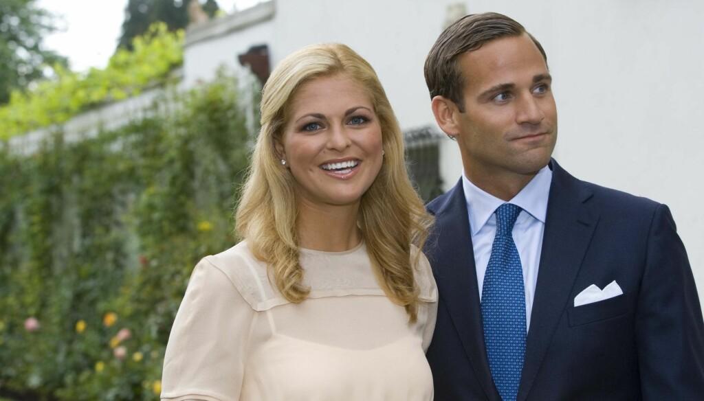 BRUDD: Jonas Bergström og Prinsesse Madeleine gikk hver til sitt etter utroskapsskandalen i fjor. Foto: Stella Pictures
