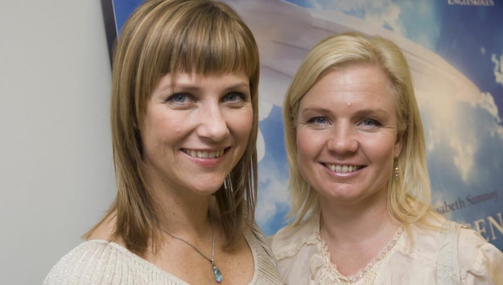 OMDISKUTERT: Prinsesse Märtha Louise og Elisabeth Samnøy driver den omdiskuterte engleskolen. Foto: SCANPIX