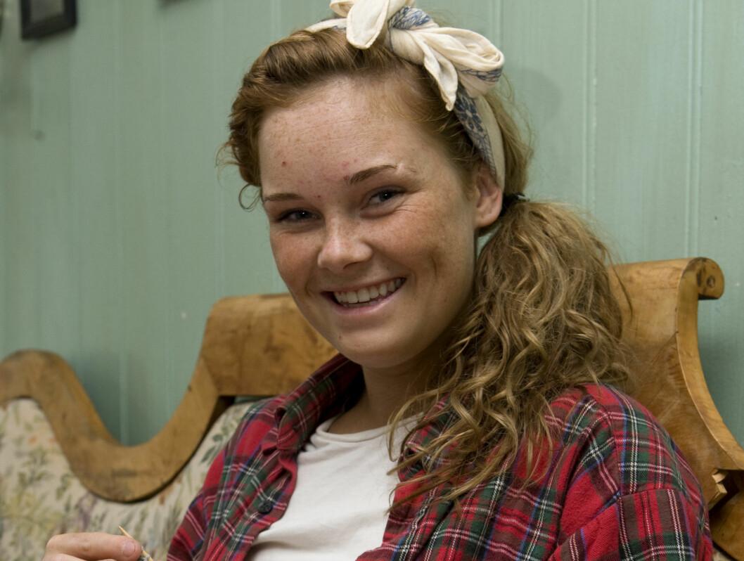<strong>MED OG KJEMPER:</strong> Hanne Linnesholm fra Sandefjord er med i «Farmen». Foto: TV 2
