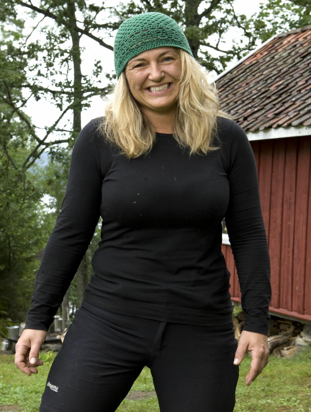 <strong>TAR MED MANNEN:</strong> Siv Annie Bjørnvåg og mannen Ståle er med i «Farmen».  Foto: TV 2