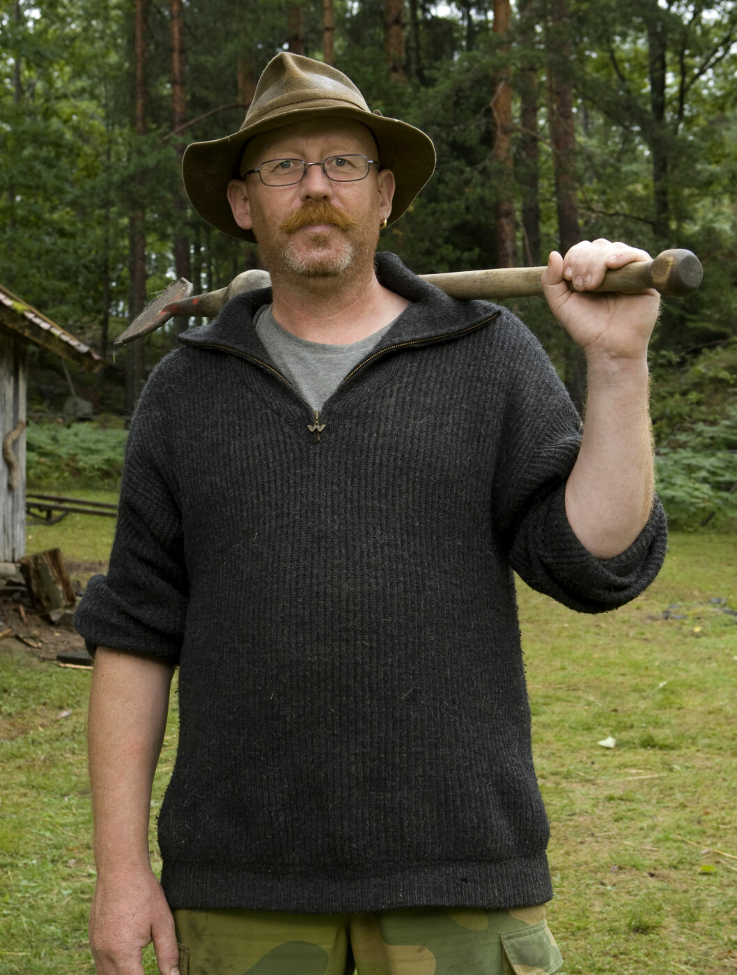 <strong>TV-KLAR:</strong> Dyreglade Tommy Rodal blir å se på TV denne våren.  Foto: TV 2