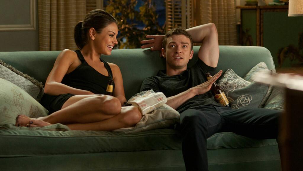 RETT I NYTT FORHOLD?: Først ble Mila Kunis singel, så fulgte Justin Timberlake etter. Nå kobles de to, som spilte i filmen Friends with Benefits, til hverandre.  Foto: Stella Pictures