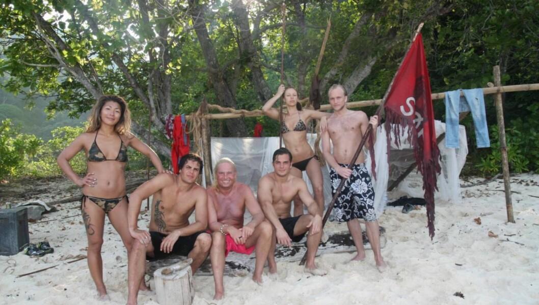 TØFF KONKURRANSE: «Robinsonekspedisjonen» vil gjerne ha variasjon i deltagerne sine. Her er gjengen fra 2010.