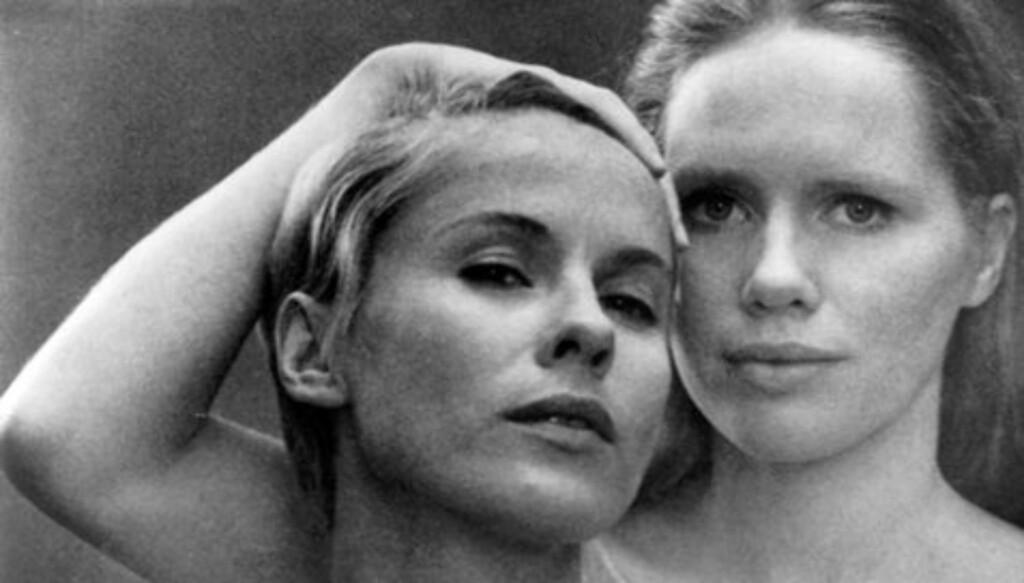 FORSTYRRENDE: Liv Ullmann og Bibi Andersson spilte mot hverandre i Ingmar Bergmans «Persona» fra 1966.