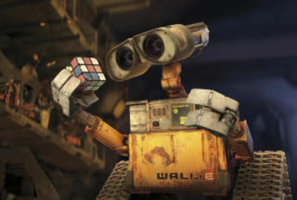 Rydderoboten Wall-E sjarmerte en hel verden.  Foto: REUTERS/Disney Pixar
