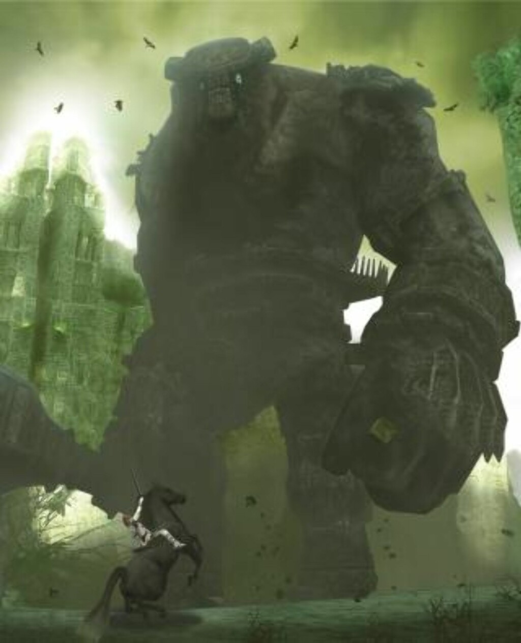 «Shadow of the Colossus» høstet fantastiske anmeldelser når det kom til PlayStation 2 i 2006. Foto: Sony