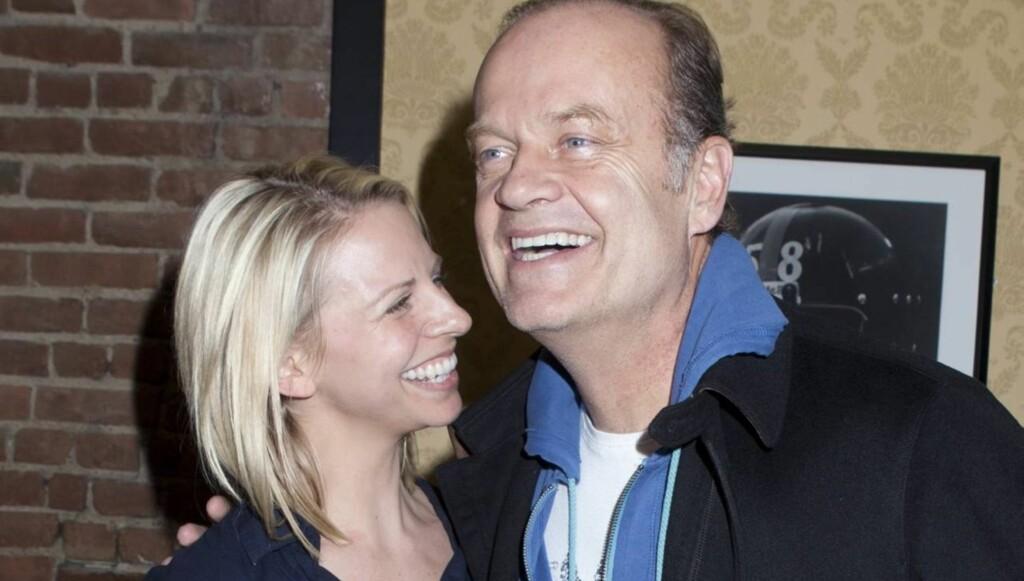GIFTER SEG: Kelsey Grammer satser på at hans fjerde ekteskap blir det beste, når han denne helgen gifter seg med Kayte Walsh i New York. Bryllupet kommer kun to uker etter at han ble formelt skilt fra sin forrige kone. Foto: All Over Press