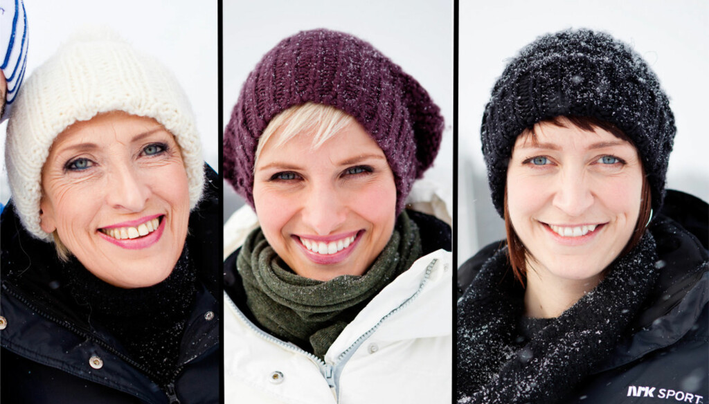 POPULÆRE: Karen-Marie Ellefsen, Anne Rimmen og Ingerid Stenvold blir å se på NRKs VM-sendinger framover. Foto: SCANPIX