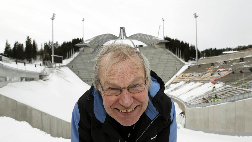 KLAR FOR VM PÅ HJEMMEBANE: Arne Scheie håper på norsk gulljubel i hoppbakken i Holmenkollen under ski-VM. Foto: Scanpix