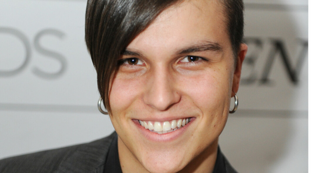 PIKENES JENS: «X-Factor»-kjendisen Atle Pettersen er en kjekkas, men 21-åringen har ikke tid til noen kjæreste. Her på Vixen Blog Awards i Oslo i februar. Foto: Stella Pictures