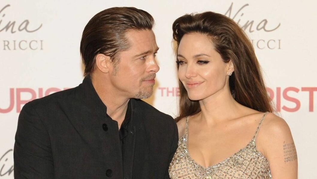 NEKTER Å HØRE PÅ BRAD: Selv ikke bønner fra samboer Brad Pitt skal ha fått Angelina Jolie til å droppe kirurgi-planene, ifølge bladet National Enquirer. Foto: All Over Press