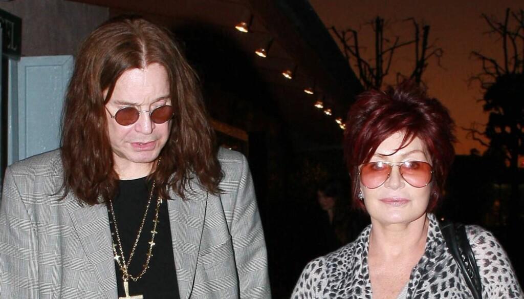 VIKTIG STØTTESPILLER: Sharon Osbourne har stått ved ektemannens side gjennom tykt og tynt. Foto: All Over Press