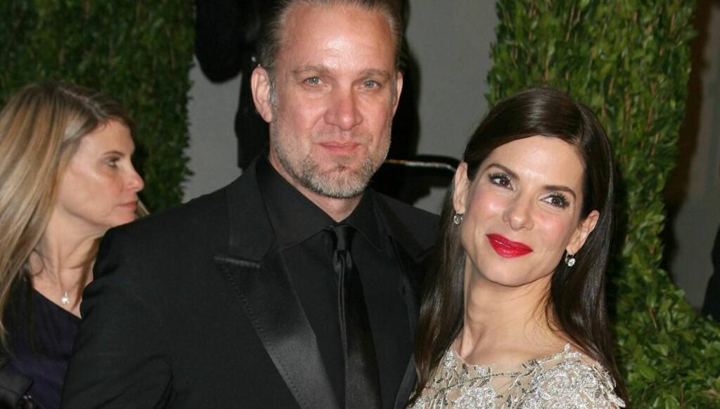 BITTERT BRUDD: Sandra Bullock hadde et vondt brudd fra sin tidligere ektemann Jesse James i fjor - han hadde nemlig vært utro med en rekke andre kvinner. Foto: All Over Press