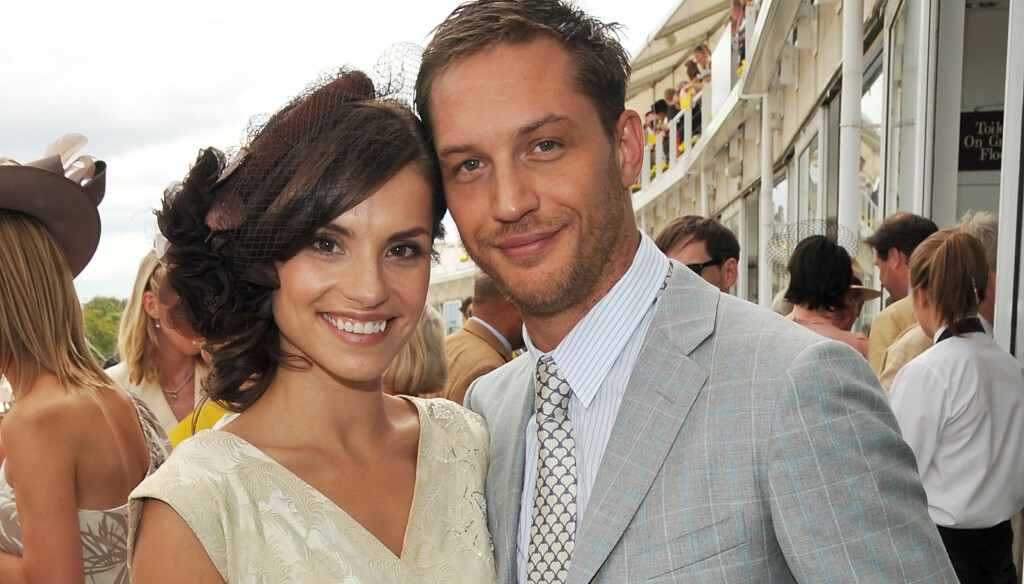 BRUDD: Forlovelsen er brutt mellom Charlotte Riley og Tom Hardy. Foto: All Over Press