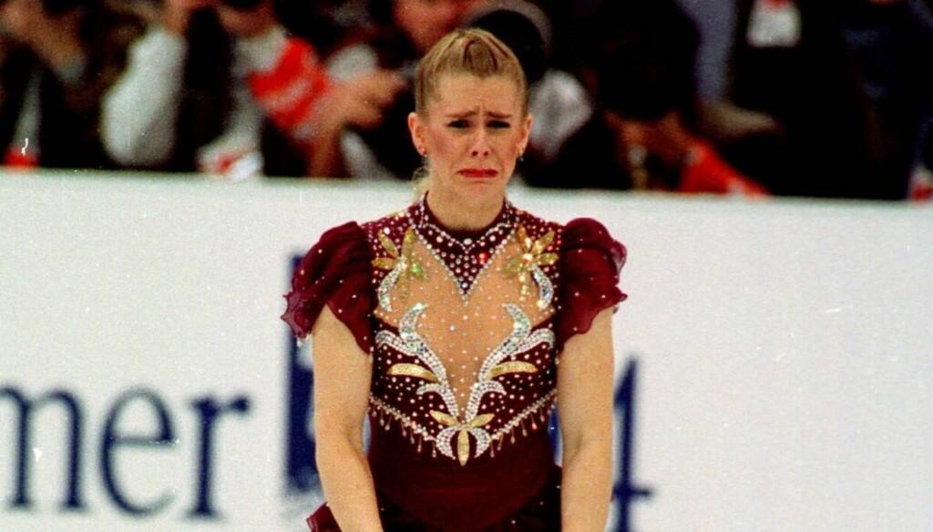 OL-MINNE: Harding er kanskje mest kjent i Norge for sitt mislykkede løp under OL på Lillehammer i 1994, da hun slet med en kort skøytelisse, og gikk gråtende av isen.  Foto: SCANPIX