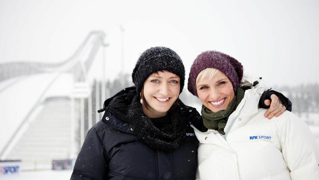 POPULÆR: Ingerid Stenvold har blitt en av NRKs mest populære TV-profiler de siste årene, og sammen med TV-kollega Anne Rimmen skal hun lede NRKs VM-sendinger framover. Foto: Scanpix