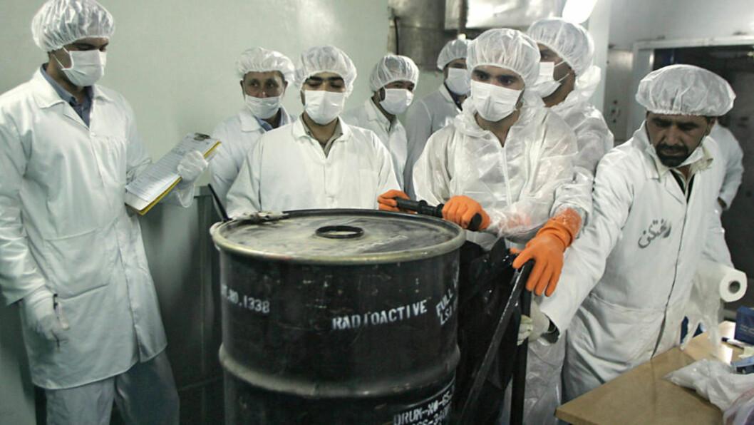 <strong>OMSTRIDT:</strong> Iran har fått mye oppmerksomhet for sitt atomprogram. Foto: AFP PHOTO/BEHROUZ MEHRI/Scanpix