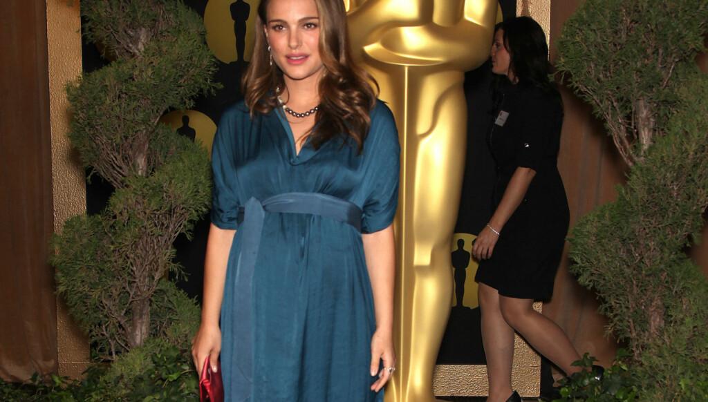 VOKSER: Men Portman synes det er uheldig at graviditeten stjeler fokuset fra filmene hennes. Foto: Stella Pictures