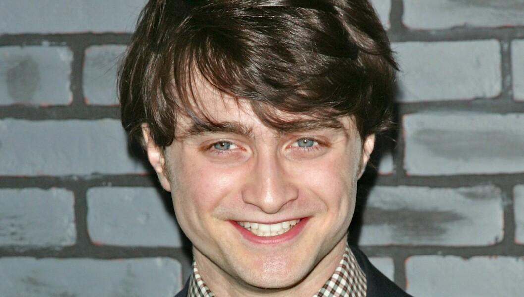 <strong>HARRY POTTER?:</strong> Skuespiller Daniel Radcliffe håper at publikum vil klare å se ham som noe annet enn trollmannen Harry Potter. Her er han på premieren av «Harry Potter og Dødstalismanene, del 1» i New York i november.  Foto: All Over Press
