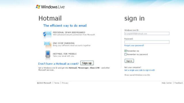 a09f012a9 Har du problemer med Hotmail? - Dagbladet