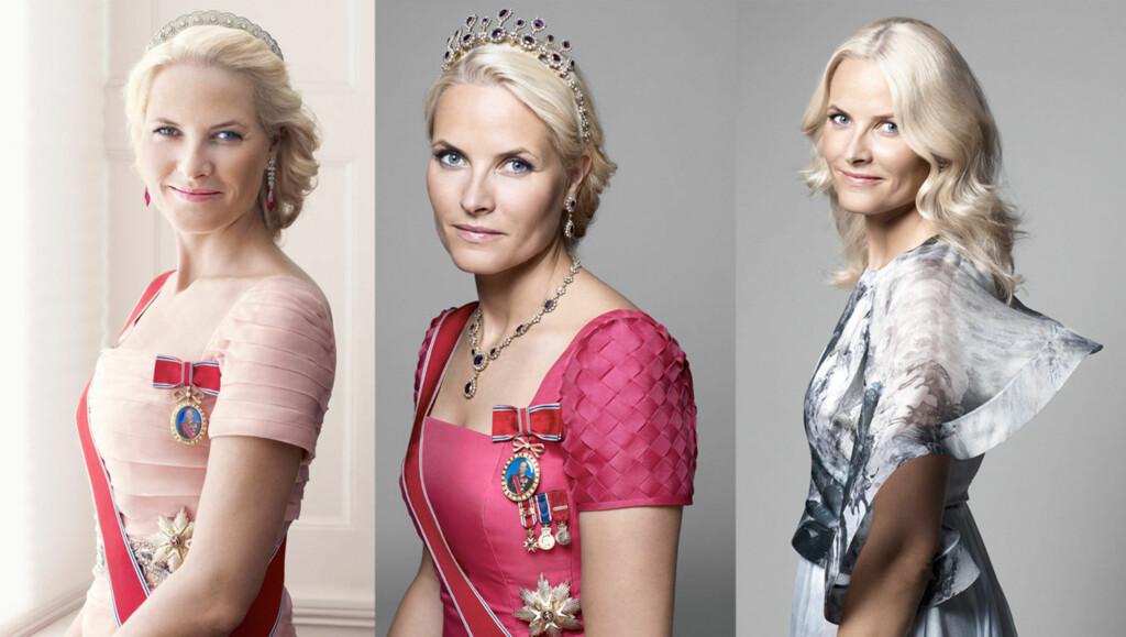 VOKSDUKKE?: Kronprinsesse Mette-Marit fremstår med porselenshud og ser ut som en voksdukke sier en fotograf om de nye bildene av kongefamilien. Foto: Sølve Sundsbø